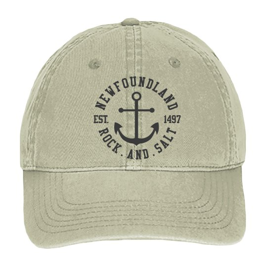 Canvas Rock and Salt Cap
