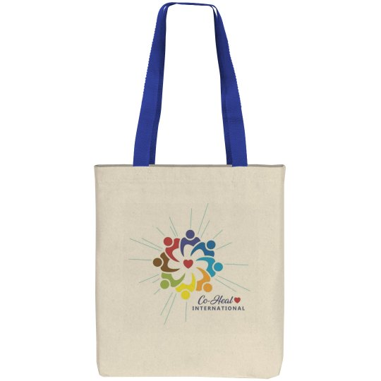 "Canvas Tote Mulitcolor ""There is a Healer in Me"""