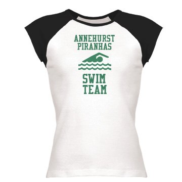 Cap Sleeve Swim Team