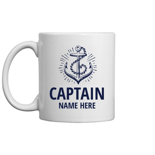 Captain Custom Father's Day Gift