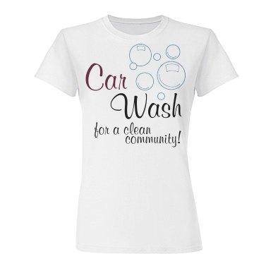 Car wash bubbles