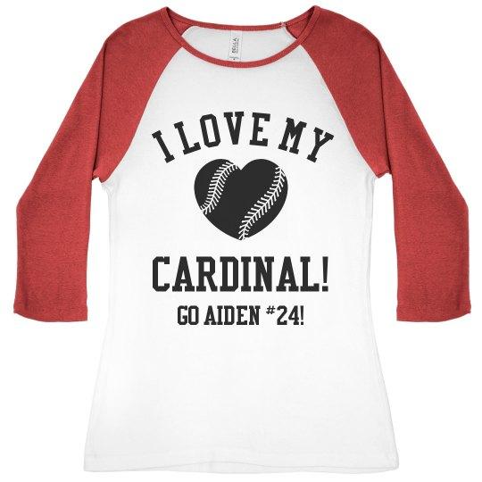 Cardinal Baseball Fan