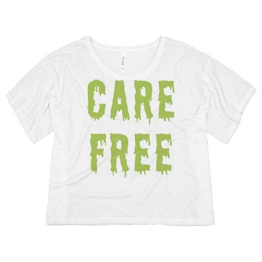 Care Free Melt Text