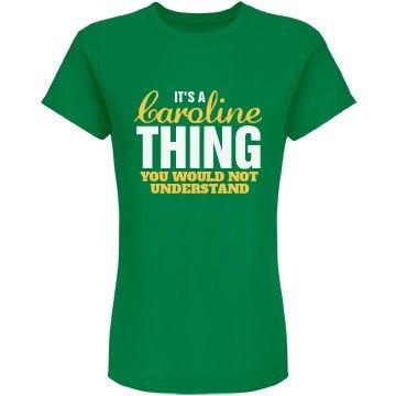 Caroline Thing