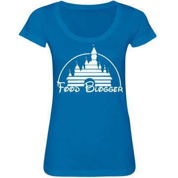 Castle Food Blogger Tee