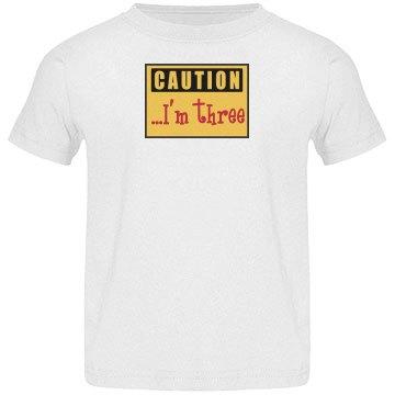 Caution Kid's Birthday