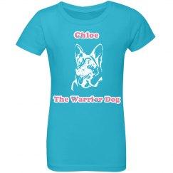 Chloe - Aqua Blue - Youth/Girls