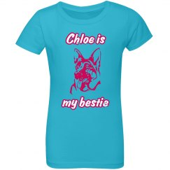 Chloe Is My Bestie - Aqua Blue