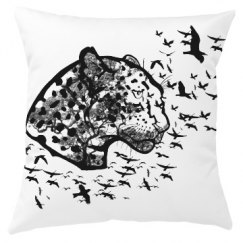 Forest Leopard Pillow