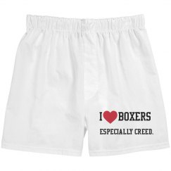 I love Boxers, Especially Creed.