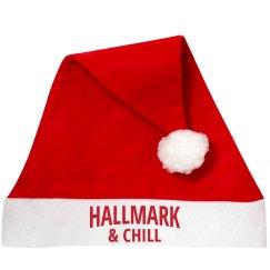 Hallmark & Chill Funny Santa Hats