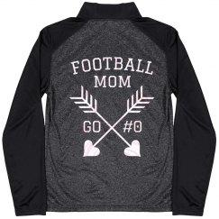 Football Mom Custom Pullover