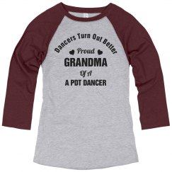 Proud Grandma Jersey Shirt