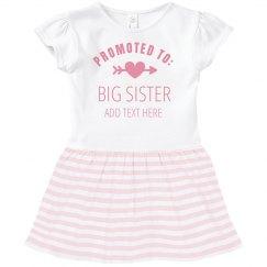 Promoted To Big Sister Custom Name