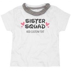 Custom Name Sister Squad