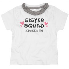 Custom Name Sister Squad