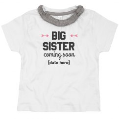 Big Sister Coming Soon Custom Name