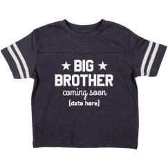 Big Brother Coming Soon Custom Name