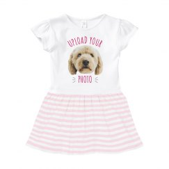 Custom Upload & Text Baby Dress