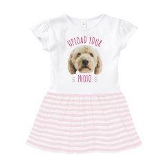 Custom Upload & Text Baby Dress