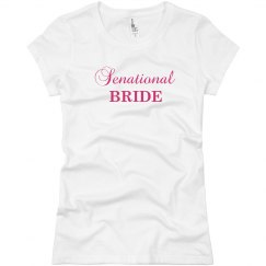 Sensational Bride T-Shirt
