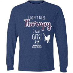 I Don't Need Therapy, I have a cat!