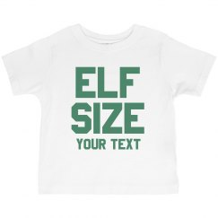 Elf Size Custom Toddler