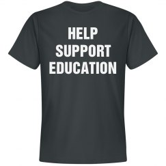 Help support education