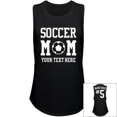 Sporty Customizable Soccer Mom