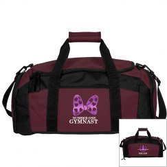Miller girl. Gymnastics bag