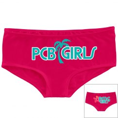 "PMG GIRLS ""HOME TOWN WHITE"" HOT SHORTS"