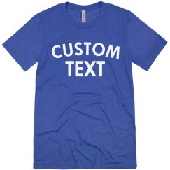Create a Custom Triblend Tee