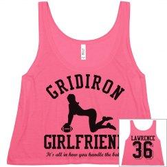 gg football fashions gridiron girlfriend womens crop
