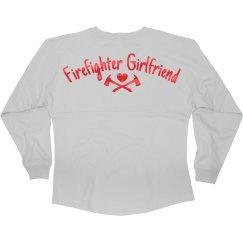 Metallic Firefighter Girlfriend