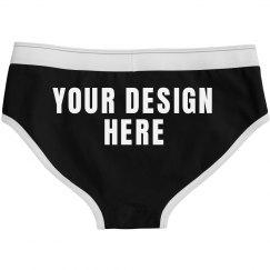 Custom Ladies Underwear Briefs