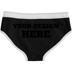 Custom Undies For Women