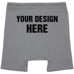Personalized Mens Boxer Briefs