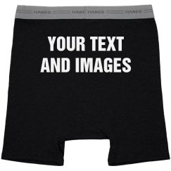 Custom Valentines Boxers And Underwear For Him
