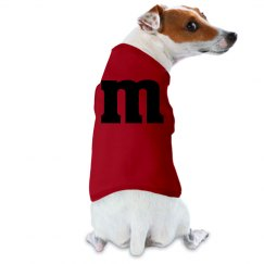 Dog M&M costume