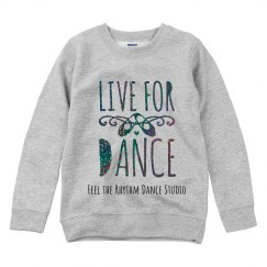 Youth Live for Dance Crewneck