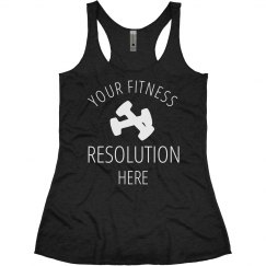 Custom Funny Fitness Resolution