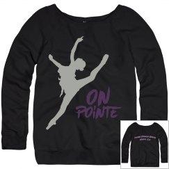 On Pointe Sweatershirt