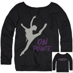 On Pointe Sweatershirt