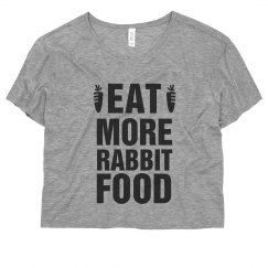Eat More Rabbit Food