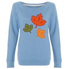 Fall sweatshirt.