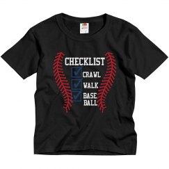 Baseball Checklist