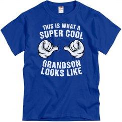 Super cool grandson