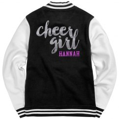 Metallic Custom Cheer Jacket