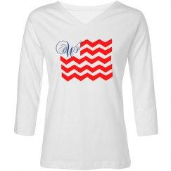 Monogram Flag Shirt