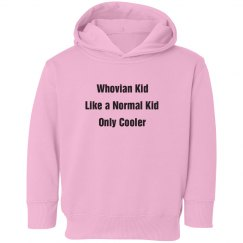 Whovian Kid Sweatshirt